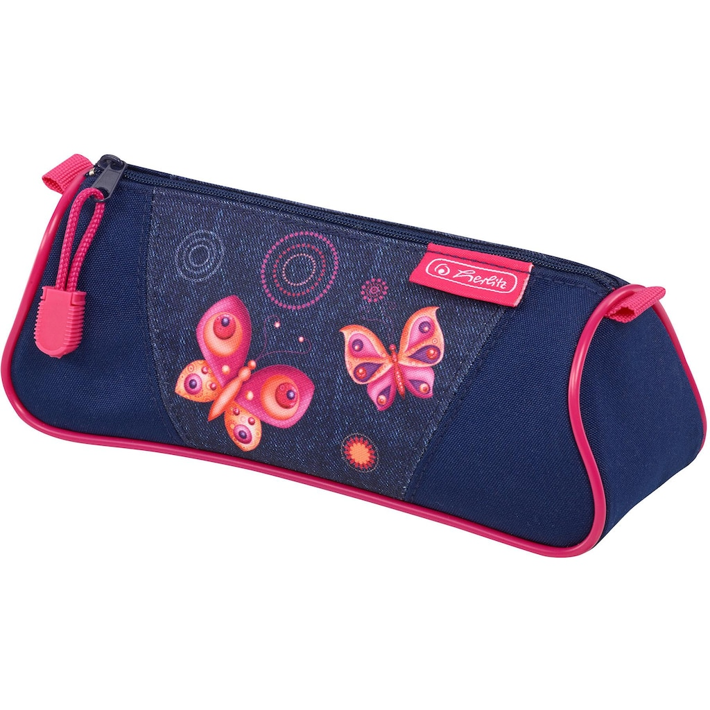 Herlitz Schulranzen »Flexi Plus, Butterfly Dreams«, 3M™ Scotchlite™ Reflektoren