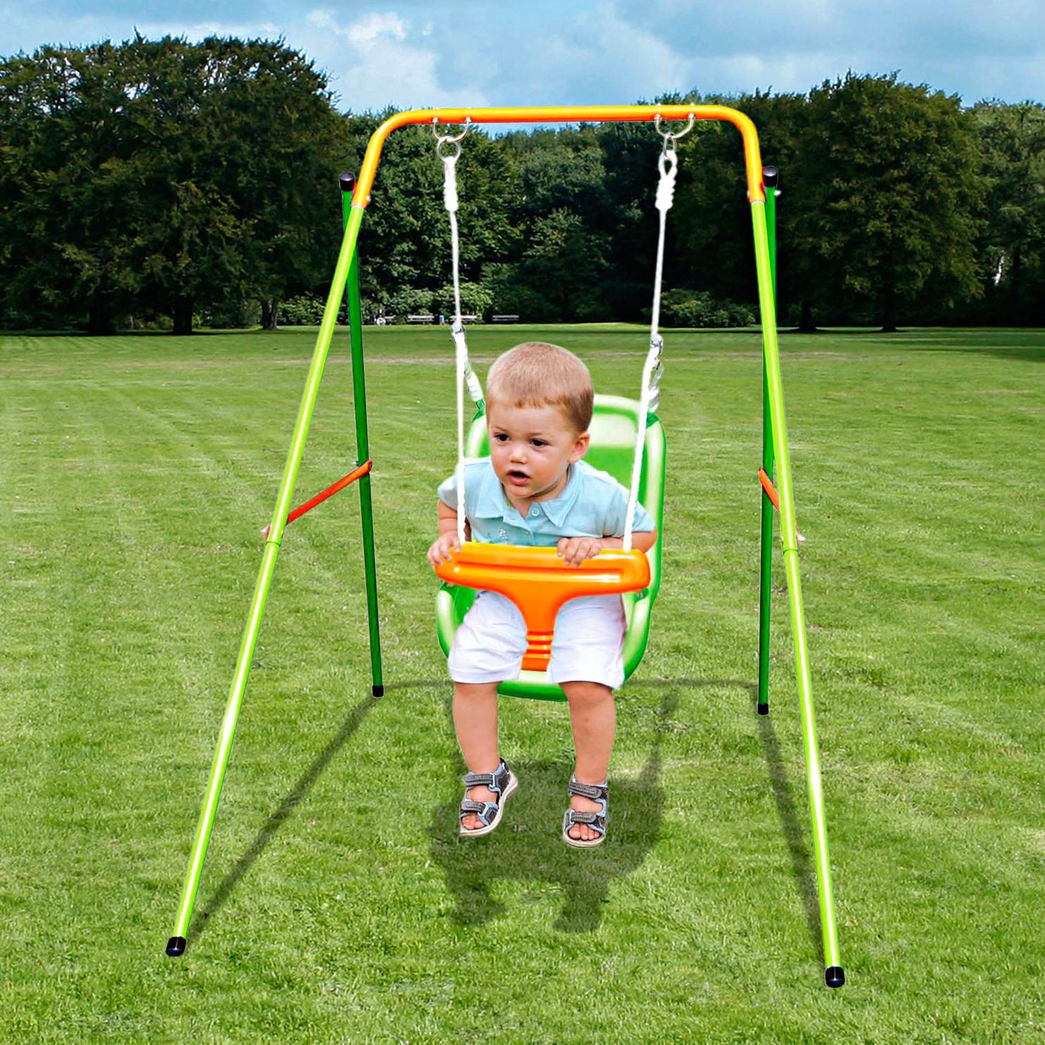 Empfehlung: Einzelschaukel Baby Swing Metall YARDMASTER  von Yardmaster*