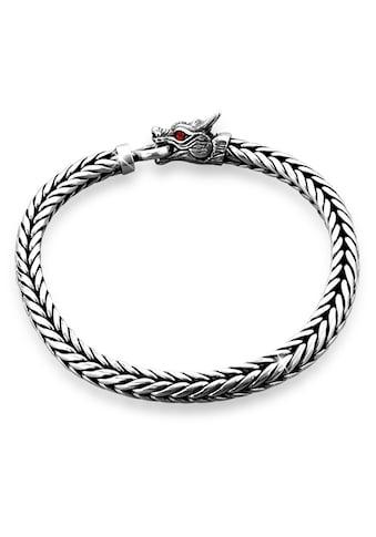Kuzzoi Armband »Herrn Drache Zirkonia Ringverschluss 925er Silber« kaufen