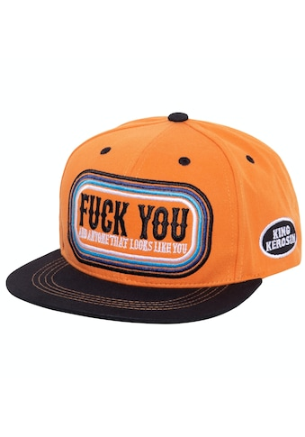 KingKerosin Flat Cap »F*ck You« kaufen