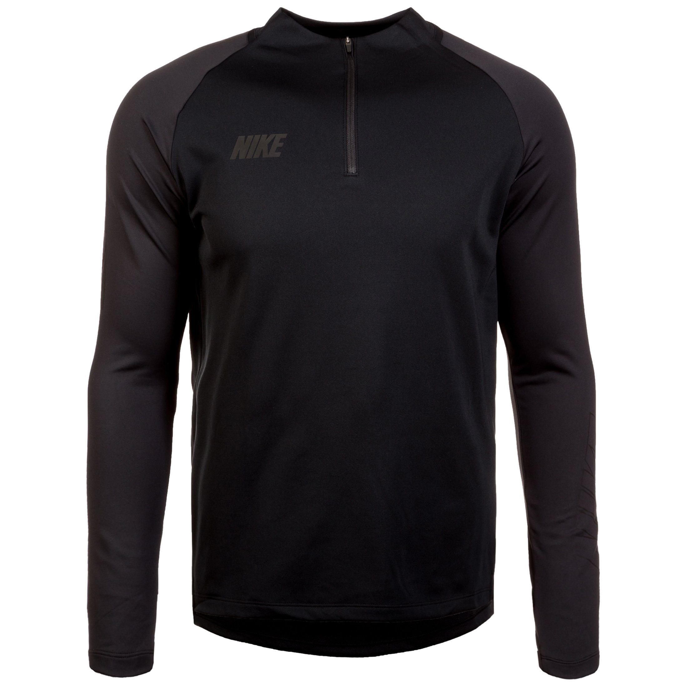 Nike Longsleeve Dry Squad Drill 19 | Bekleidung > Pullover > Fleecepullover | Schwarz | Nike