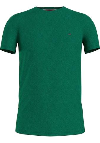 TOMMY HILFIGER T-Shirt »STRETCH SLIM FIT TEE« kaufen