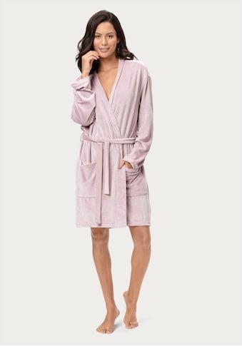 Calvin Klein Morgenmantel, mit Bindeband und aufgesetzten Taschen kaufen