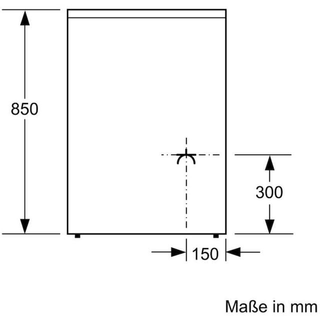 BOSCH Elektro-Standherd 4, 2-fach-Teleskopauszug, ecoClean Direct
