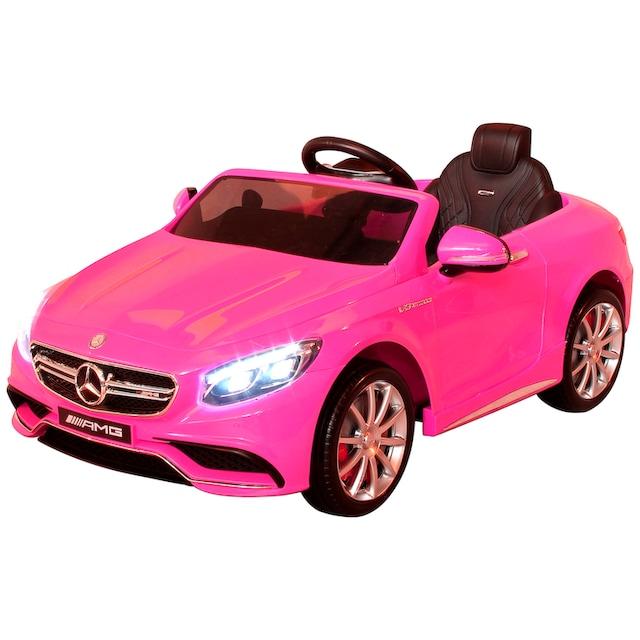 ACTIONBIKES MOTORS Elektroauto »Mercedes AMG S63«, für Kinder ab 3 Jahre, 12 Volt