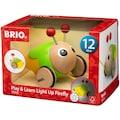 BRIO® Nachziehtier »Glühwürmchen«, mit Licht und Sound, FSC®-Holz aus gewissenhaft bewirtschafteten Wäldern