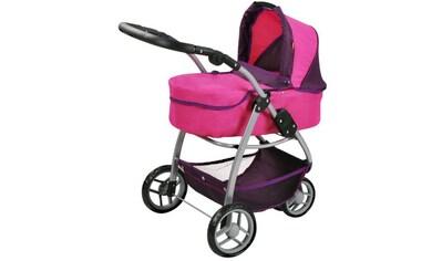 """Knorrtoys® Puppenwagen """"Cico  -  pink owl"""" kaufen"""