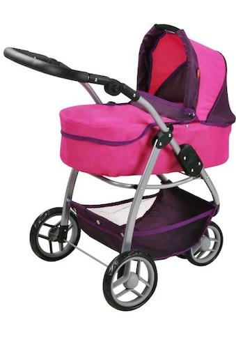 Knorrtoys® Puppenwagen »Cico - pink owl«, 2-in-1 kaufen