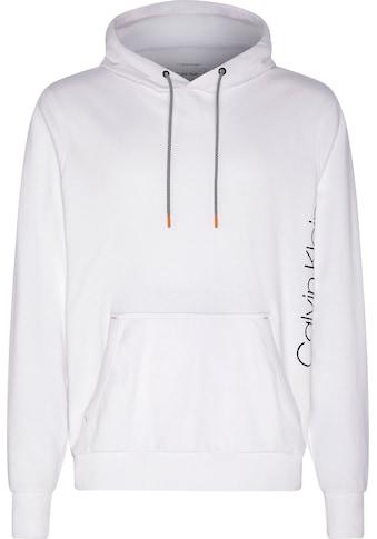 Calvin Klein Kapuzensweatshirt »VERTICAL SIDE LOGO PRINT HOODIE« kaufen