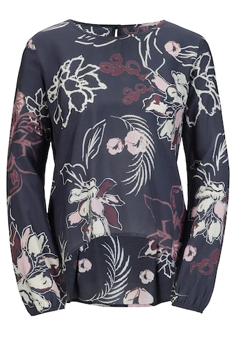 création L Bluse in hochwertiger, floral bedruckter Viskose - Seide - Qualität kaufen