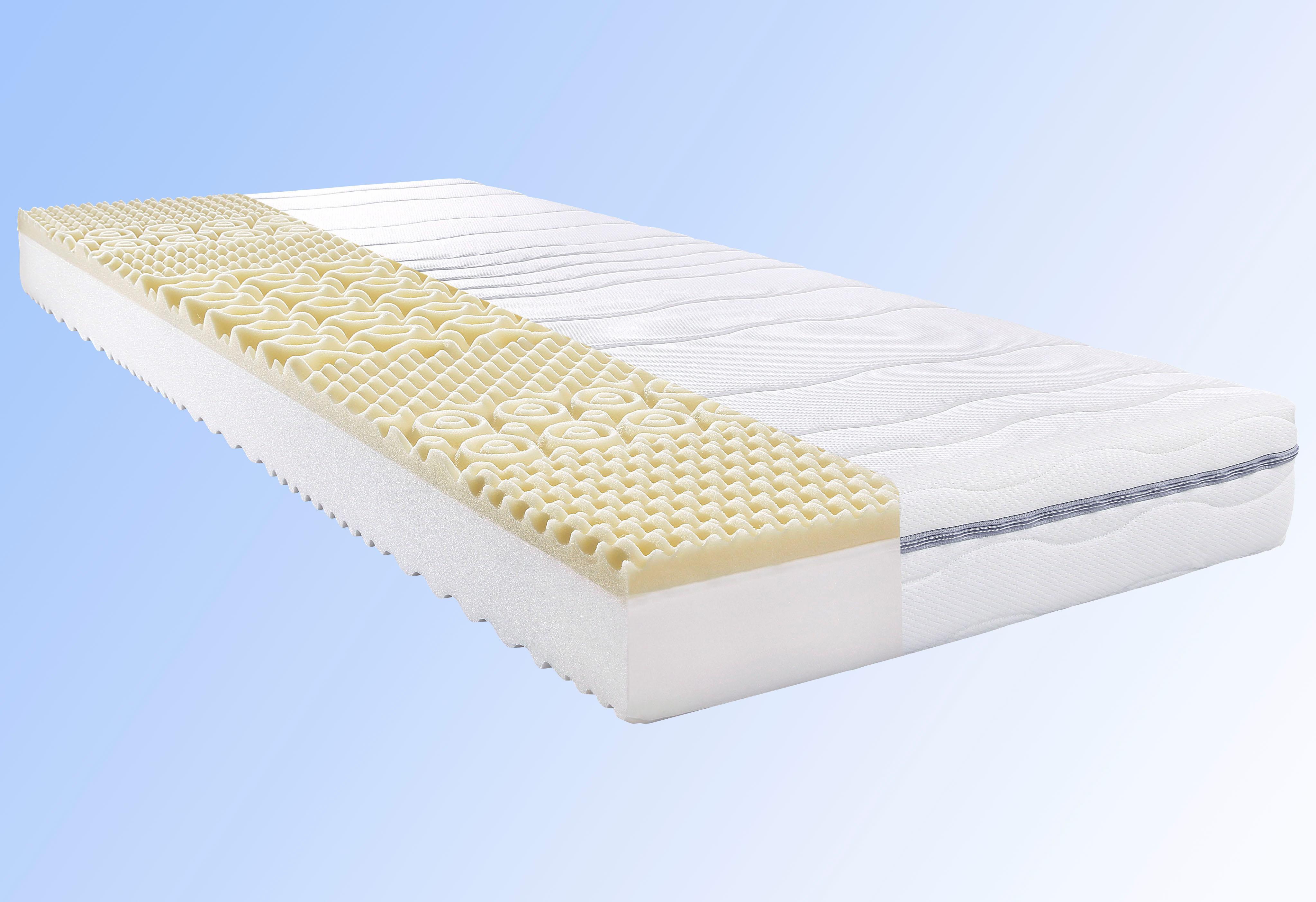 Komfortschaummatratze My Sleep Visko Beco 18 cm hoch