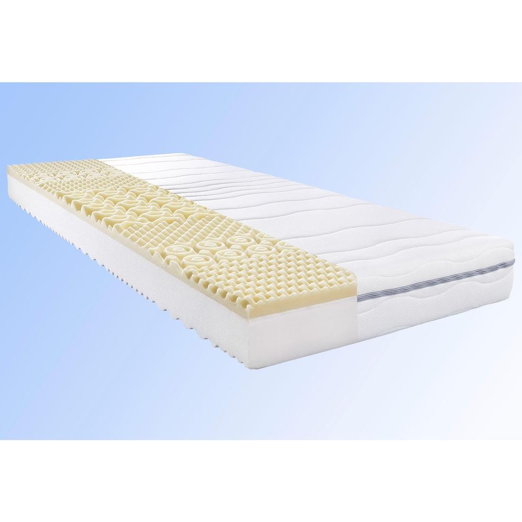 BeCo EXCLUSIV Komfortschaummatratze »My Sleep Visko«, 18 cm cm hoch, Raumgewicht: 28 kg/m³, (1 St.), Wendematratze mit zwei unterschiedlich festen Liegeseiten