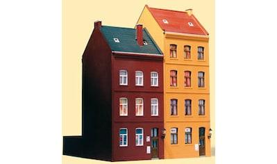 Auhagen Modelleisenbahn-Gebäude »Stadthäuser Schmidtstraße 21/23«, Made in Germany kaufen