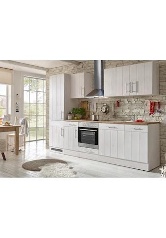 RESPEKTA Küchenzeile »Ulm«, mit E-Geräten, Breite 280 cm kaufen