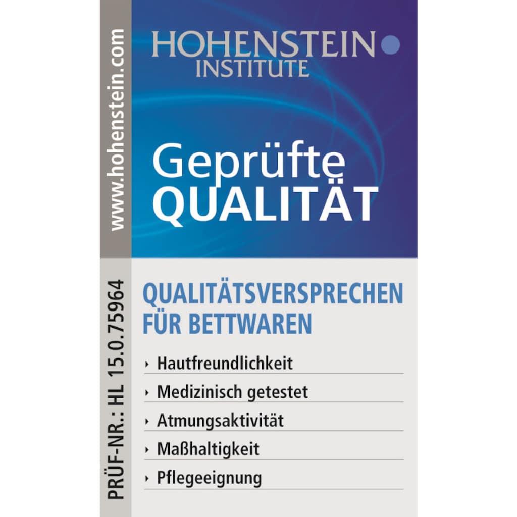 Centa-Star Kunstfaserbettdecke »Vital Plus«, warm, Bezug 100% Baumwolle, (1 St.), geprüft mit Qualitätsversprechen