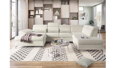 sit&more Wohnlandschaft, mit Sitztiefenverstellung und Federkern, wahlweise mit... kaufen
