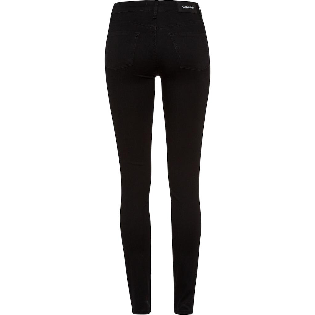 Calvin Klein Skinny-fit-Jeans »MID RISE SKINNY«