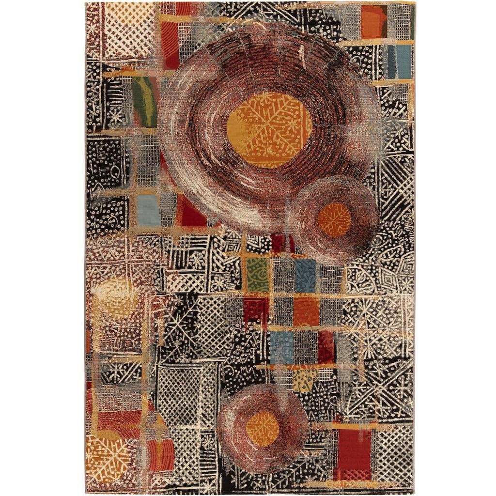Gino Falcone Teppich »Outdoor-Africa 36«, rechteckig, 5 mm Höhe, Flachgewebe, In- und Outdoor geeignet, Wohnzimmer