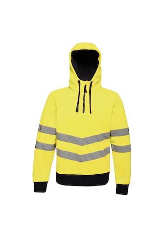 Regatta Kapuzenpullover »Herren Hi Vis Pro Stretch -  mit reflektierenden Details, Neonfarben« kaufen