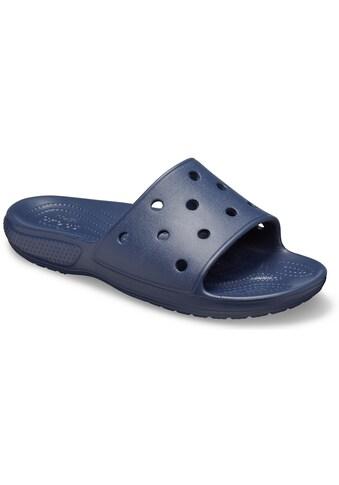 Crocs Pantolette »Classic Crocs Slide«, mit leicht genoppter Innensohle kaufen