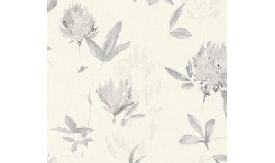 living walls Vliestapete »Blumentapete«, floral-geblümt, mit Glitzereffekt kaufen