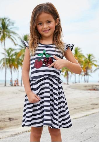 KIDSWORLD Jerseykleid, mit Wendepailletten kaufen