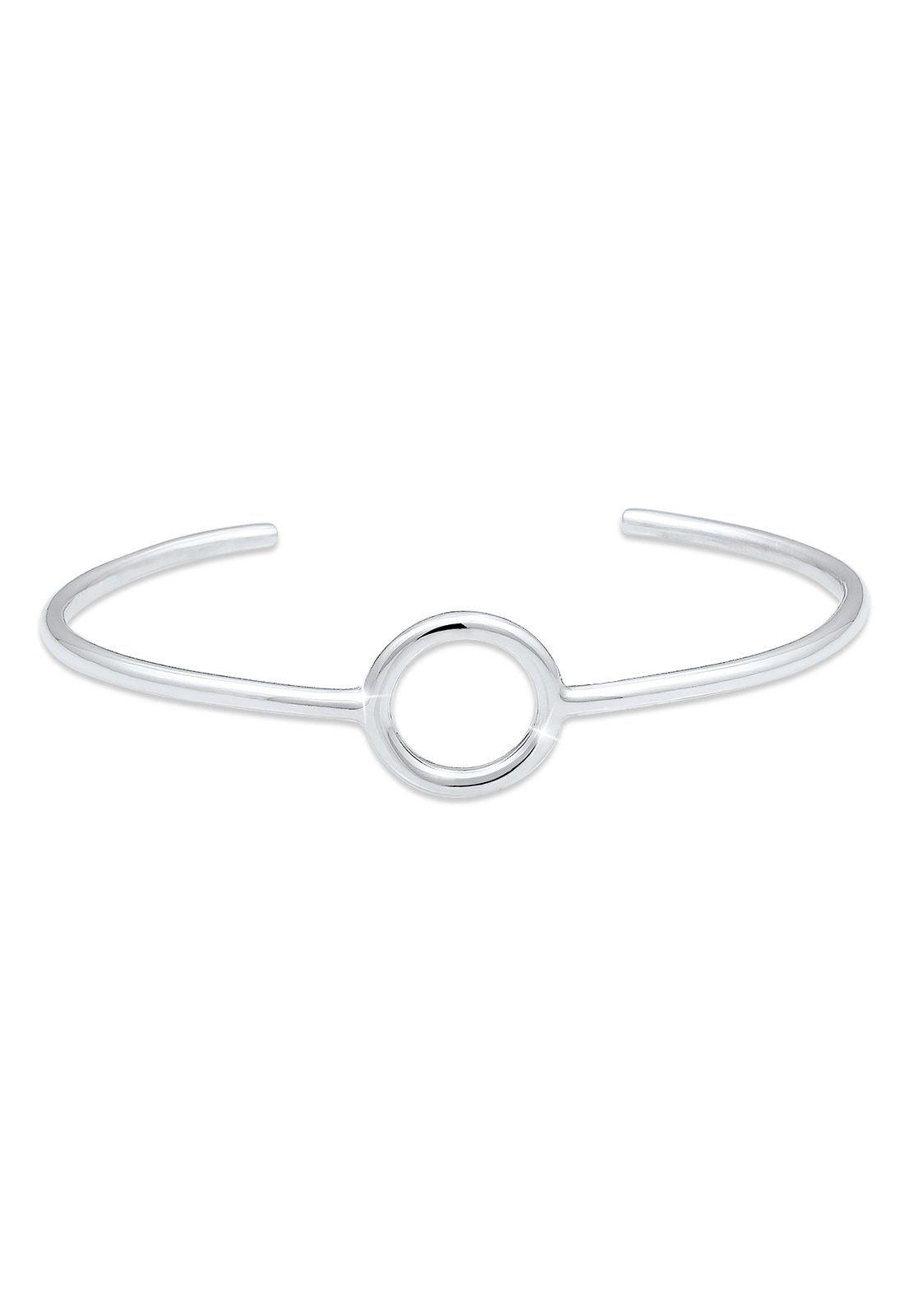 Elli Armreif Armreif Kreis Circle Geo Minimal Basic 925 Silber | Schmuck > Armbänder > Armreifen | Elli