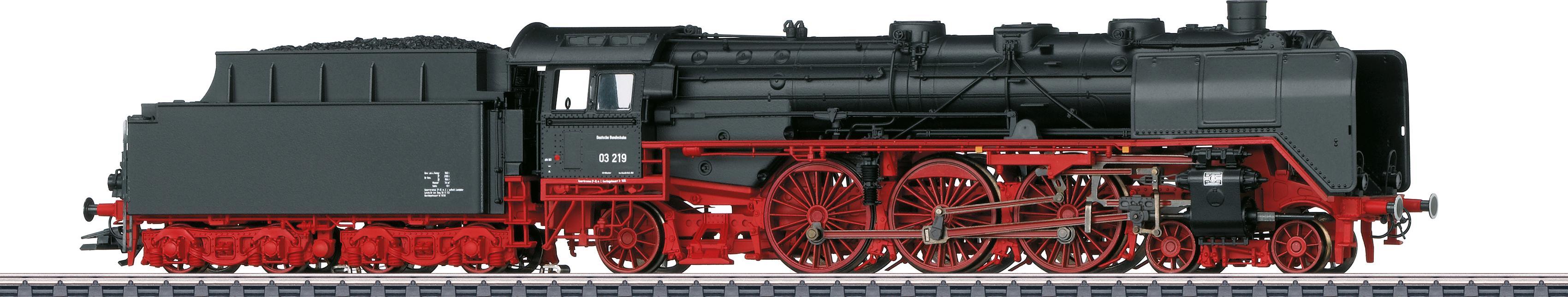 Märklin Personenzug-Dampflokomotive BR 03 219 Altbau DB - 37949, Spur H0