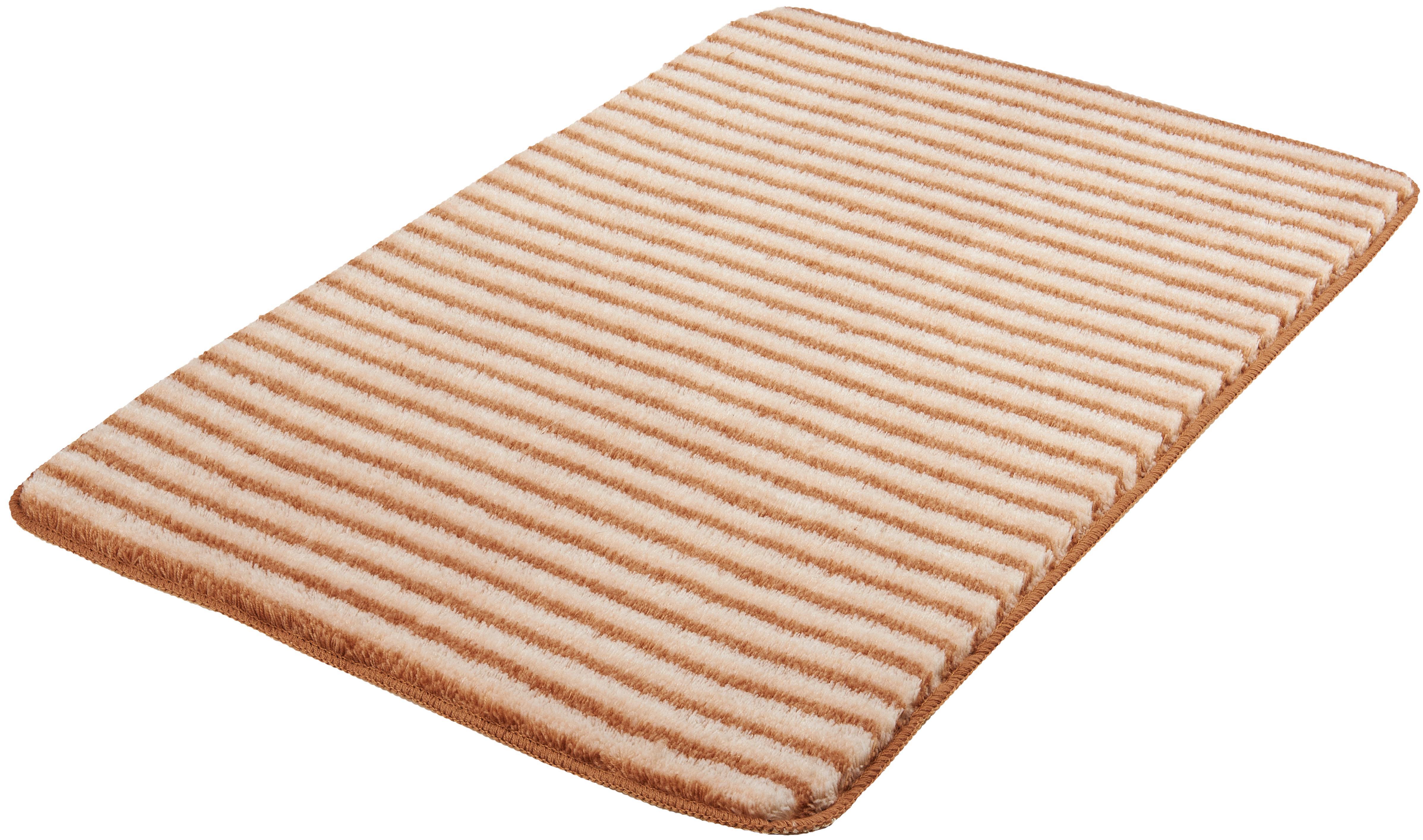 Badematte Lana MEUSCH Höhe 15 mm rutschhemmend beschichtet fußbodenheizungsgeeignet