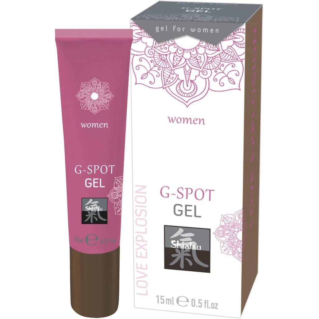 Shiatsu Intimcreme, G-Spot Gel