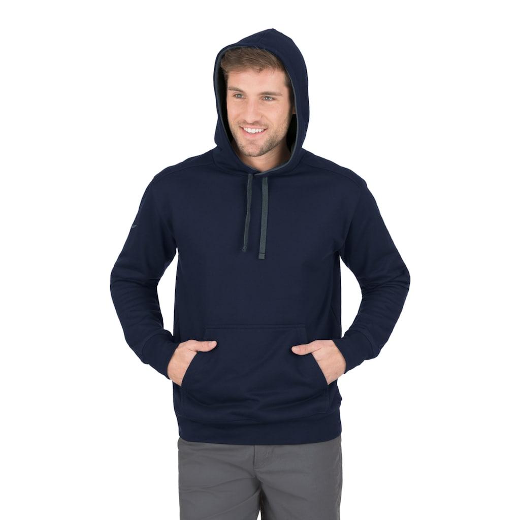 Trigema Kapuzensweatshirt, aus Sweat-Qualität