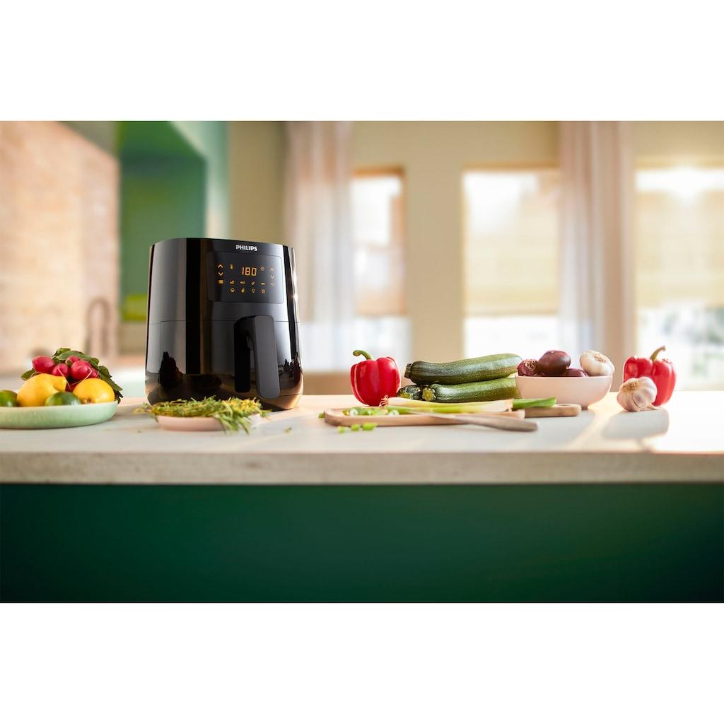 Philips Heissluftfritteuse »Essential HD9252/90«, Fassungsvermögen 0,8 kg
