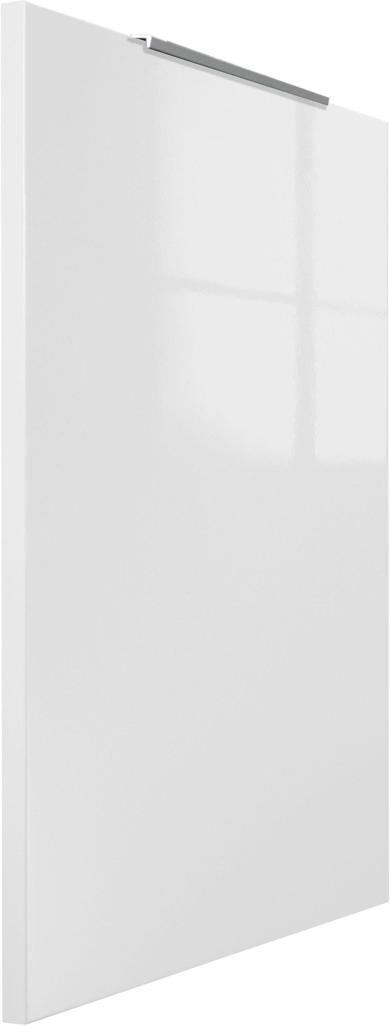 OPTIFIT Tür für volllintegierbaren Geschirrspüler Tara Breite 60 cm | Küche und Esszimmer > Küchenelektrogeräte > Gefrierschränke | Weiß | Beton - Glänzend - Melamin | Optifit
