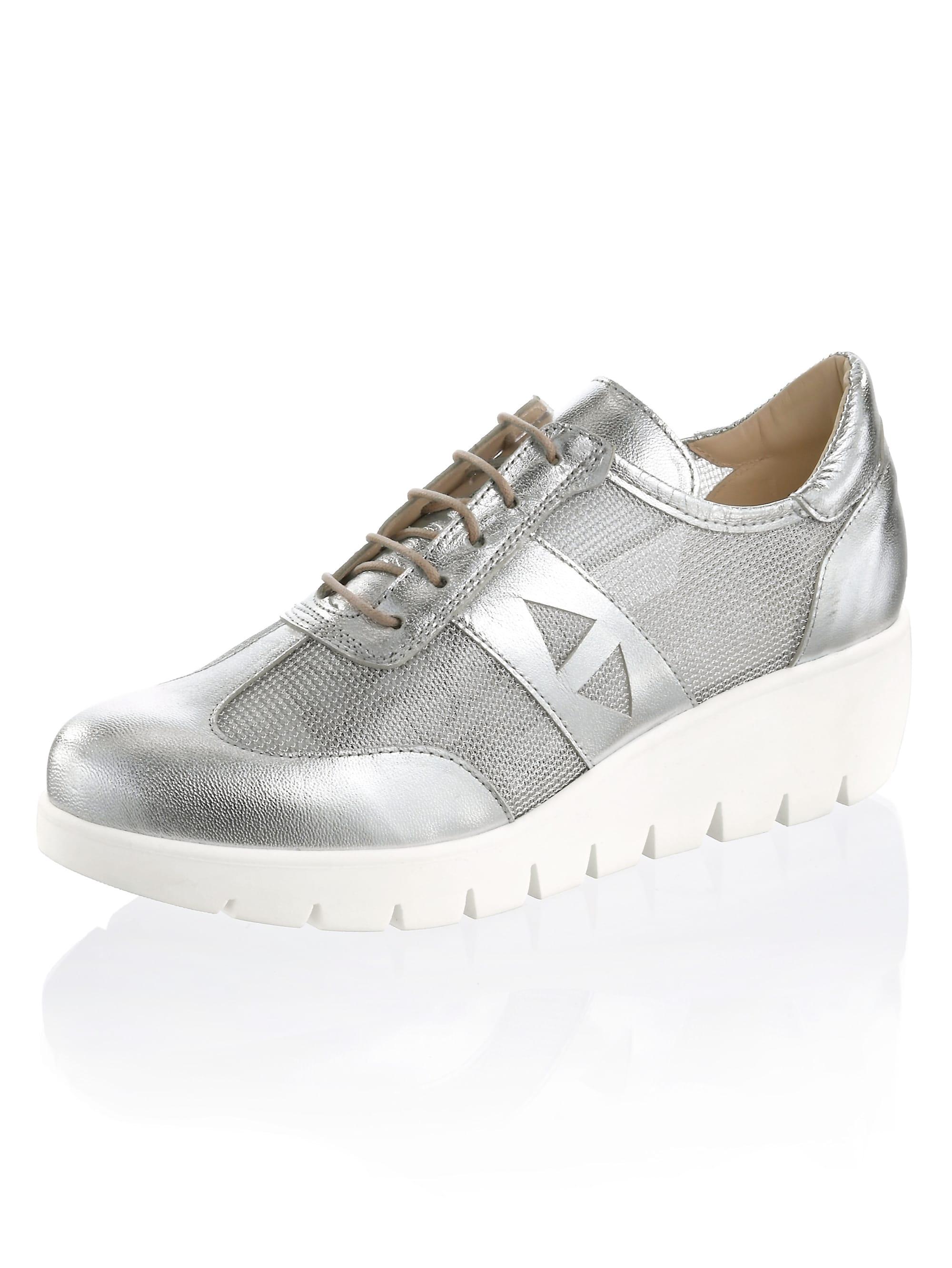 alba moda -  Sneaker, in allover Metallic