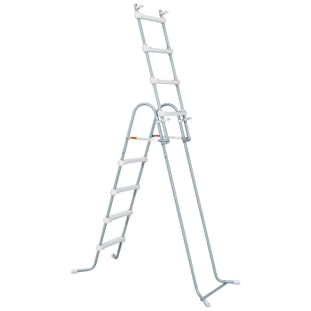SummerWaves Rundpool »Elite«, (Set, 7 tlg.), ØxH: 488x122 cm