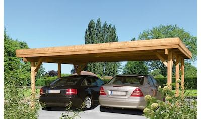 Kiehn - Holz Doppelcarport »Bochum«, BxT: 604 x 510 cm kaufen