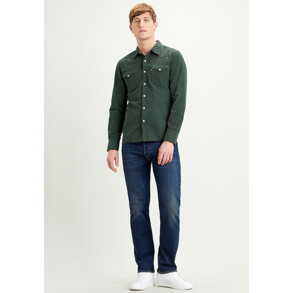Levi's® Langarmhemd, aus Feincord