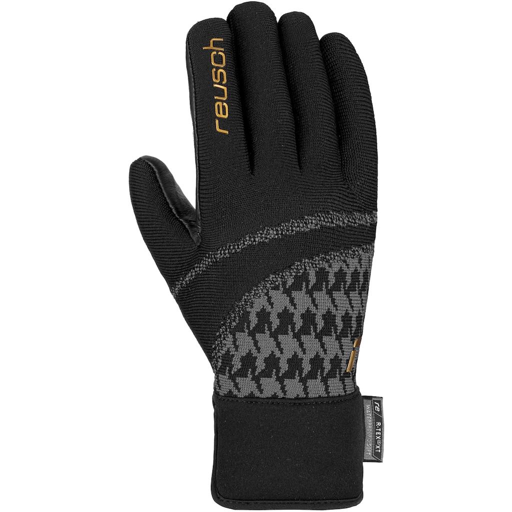 Reusch Skihandschuhe »Re:Knit Victoria R-TEX® XT«, in sportlichem Design