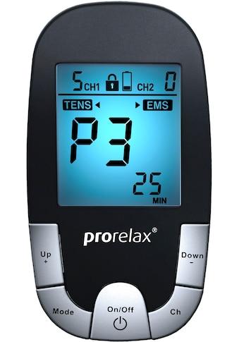 prorelax TENS-EMS-Gerät »SUPER DUO Plus Blackline«, 2 Therapien mit einem Gerät kaufen