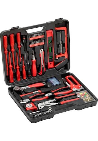 meister Werkzeugset »Haushaltskoffer«, (60 St.), im praktischem Kunststoffkoffer kaufen