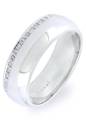 VILMAS Silberring »Spotlight, 4028146401587, 594, 600«, mit Zirkonia kaufen