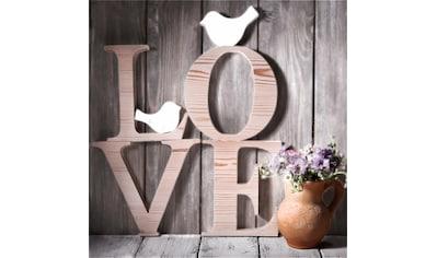 Home affaire Leinwandbild »Love Sephia«, 40/40 cm kaufen