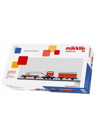 """Märklin Modelleisenbahn Startpaket """"Märklin Start up  -  Feuerwehr Bergkran Set  -  44752"""", Spur H0 kaufen"""