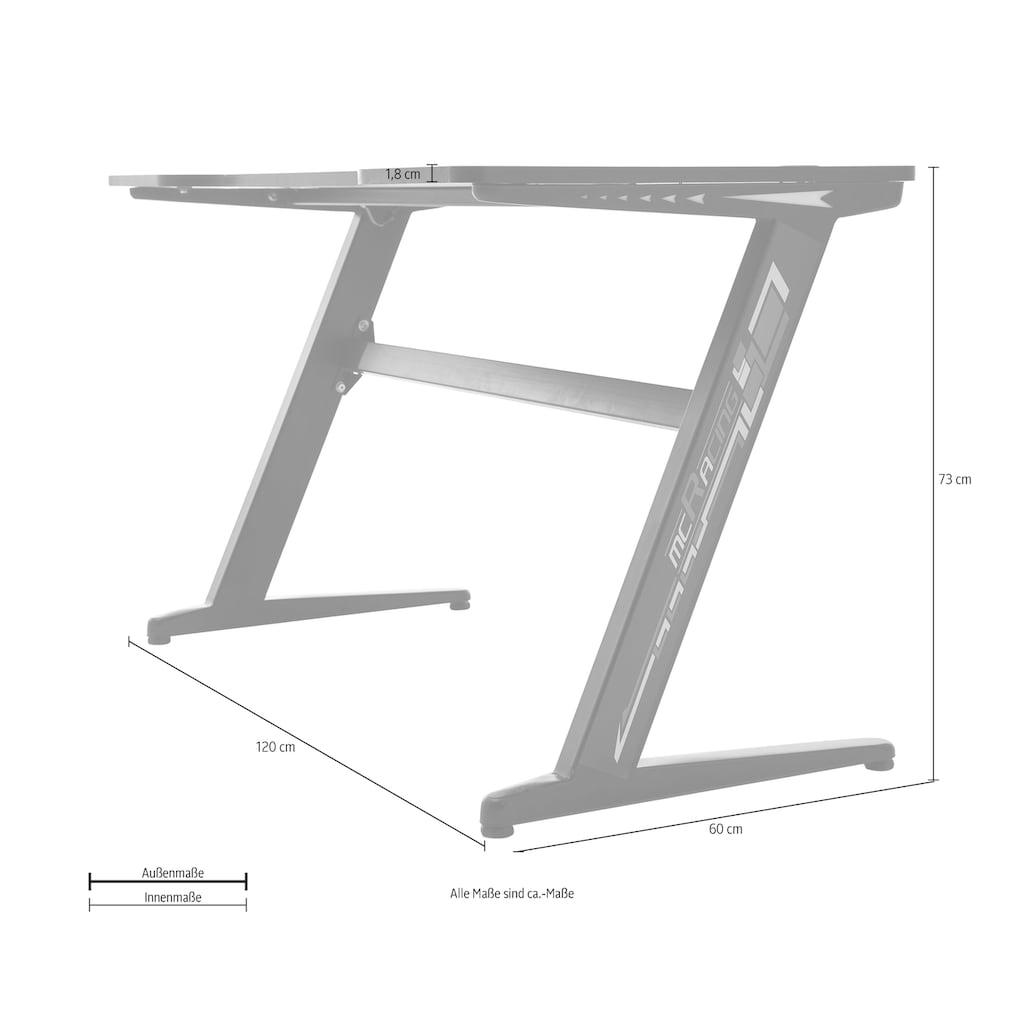 MCA furniture Gamingtisch »Gaming Tisch«