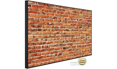 Papermoon Infrarotheizung »Rote Backsteinmauer«, sehr angenehme Strahlungswärme kaufen