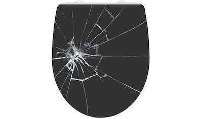 Schütte WC-Sitz »Broken Glass«, mit Absenkautomatik kaufen
