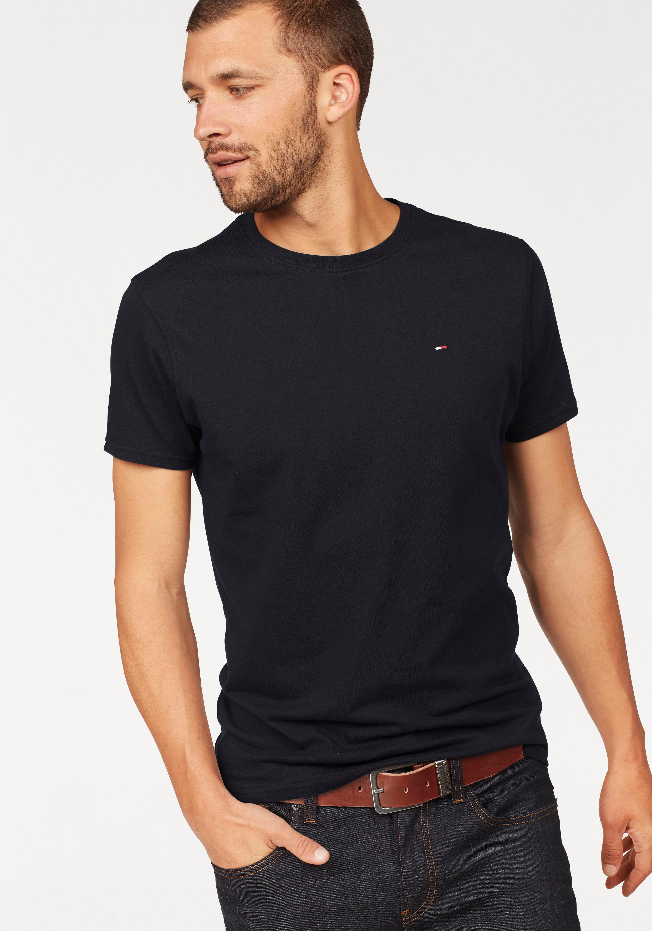 TOMMY JEANS T-Shirt TJM ORIGINAL JERSEY TEE | Bekleidung > Shirts > T-Shirts | Schwarz | Tommy Jeans