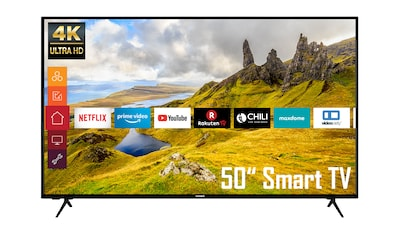 """Telefunken LED-Fernseher »XU50K521«, 126 cm/50 """", 4K Ultra HD, Smart-TV kaufen"""
