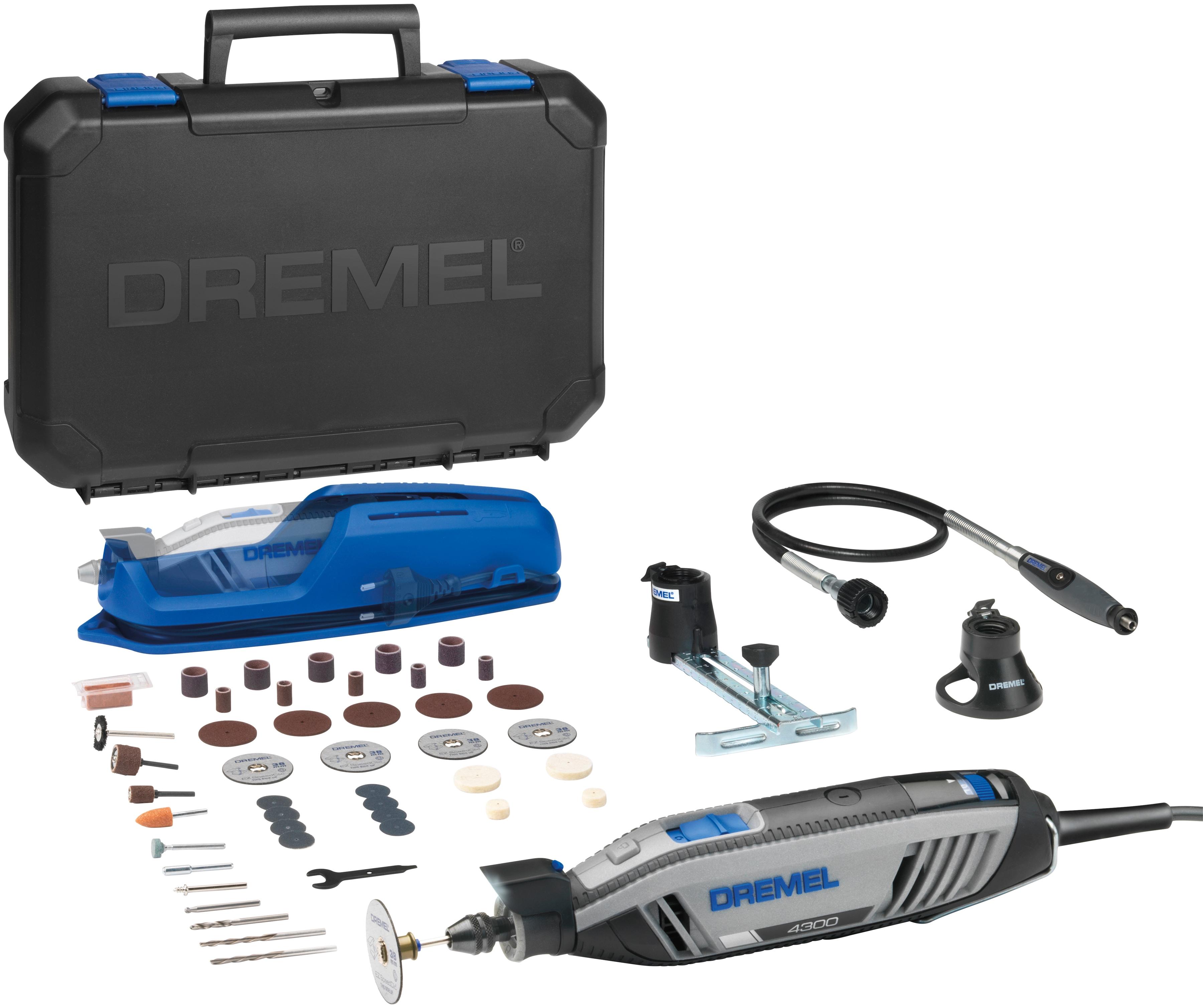 DREMEL Elektro-Multifunktionswerkzeug 4300-3/45 grau Multifunktionswerkzeug Werkzeug Maschinen