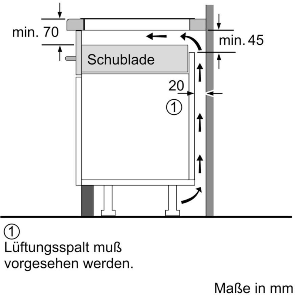 NEFF Induktions-Kochfeld von SCHOTT CERAN® »T48PT00X0«, T48PT00X0, mit TwistPad® Bedienung